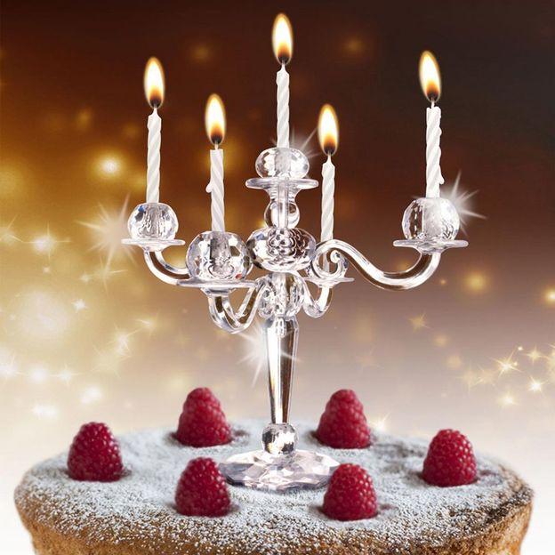 Chandelier Bling Bling pour gâteau
