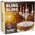 Bling Bling Kerzenständer für Kuchen inkl. Kerzen