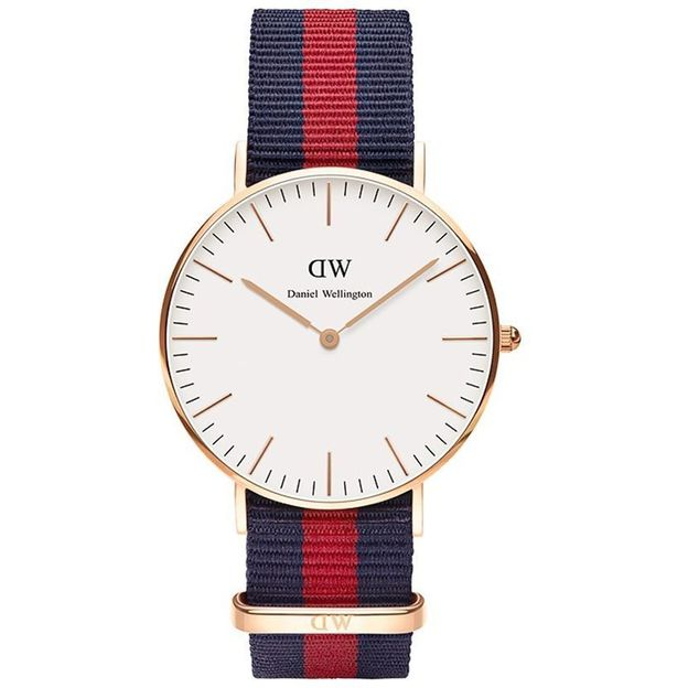 Daniel Wellington Montre femme Oxford or rosé 36 mm