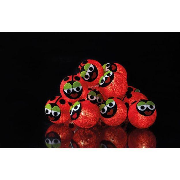 Bolette Lichterkette Ladybugs