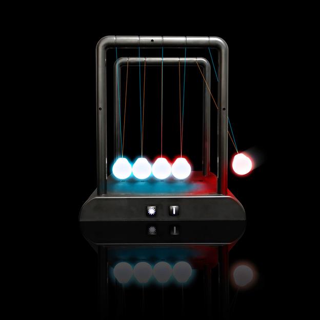 Pendule de Newton à LEDs