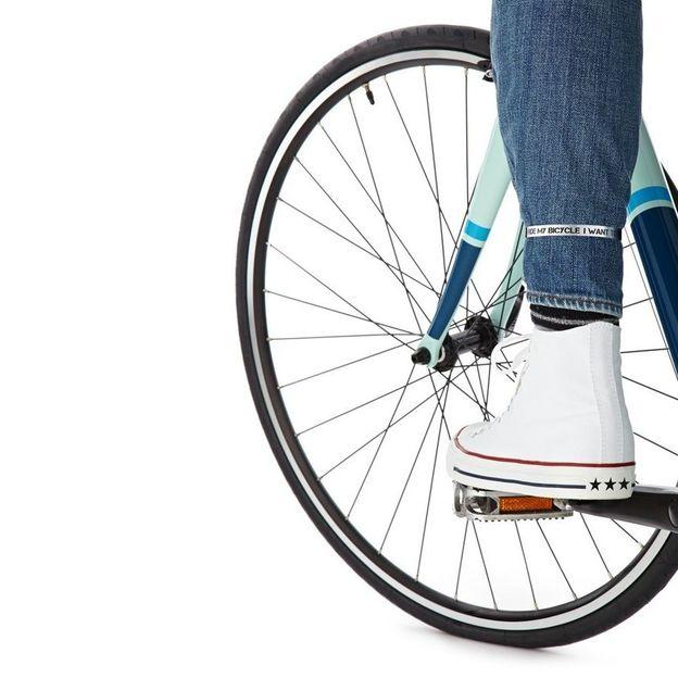 Fahrrad Hosenklammern