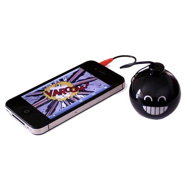 Mini haut-parleur bombe