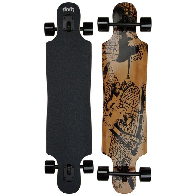 Area Longboard Tribal curves
