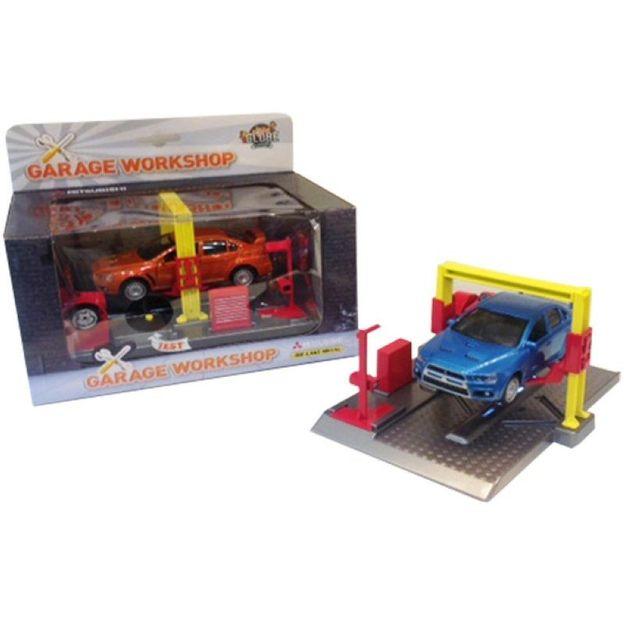 Garage et Mitsubishi Lancer