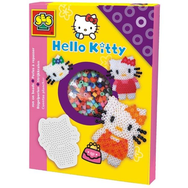 Hello Kitty Bügelperlen Set