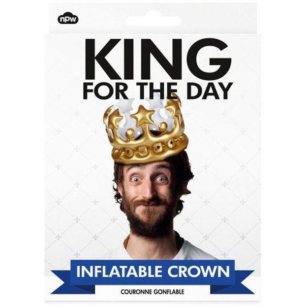 Aufblasbare Krone King for the Day