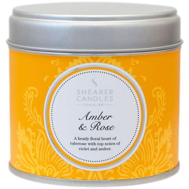 Bougie parfumée Ambre & Rose