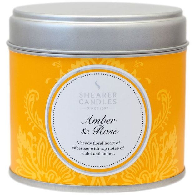 Home Fragrance Duftkerze Amber & Rose