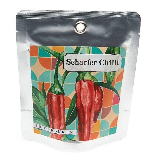 Scharfer Chili Pocket Garden