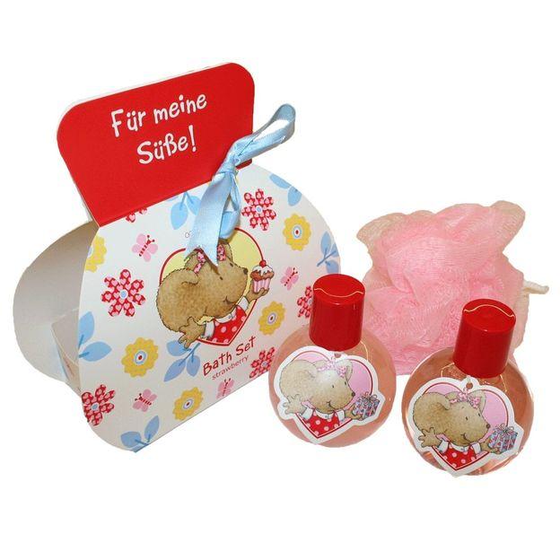 Geschenkset Lillebi in Karton-Tasche