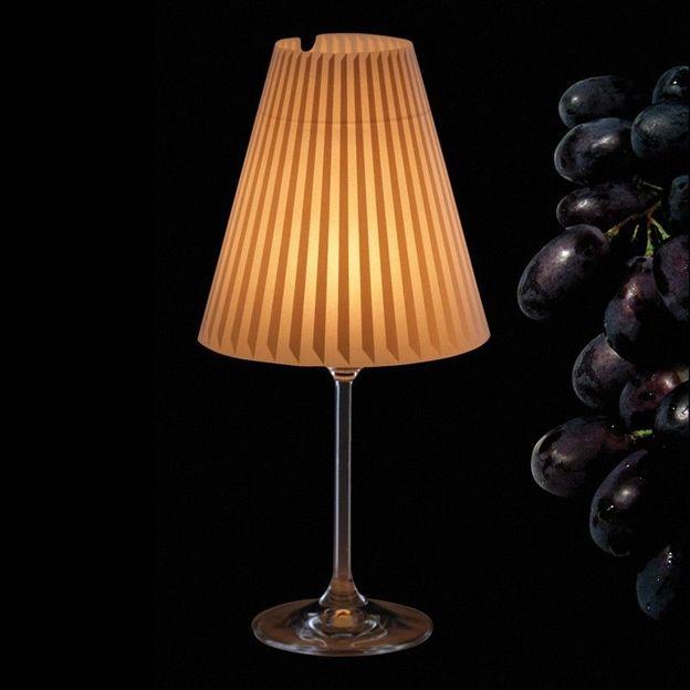 Weinglas Lampenschirm Schöne Helene