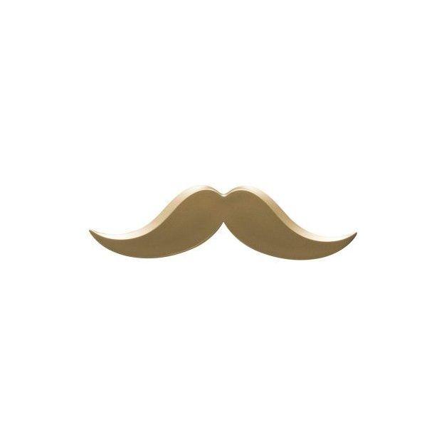 Brieföffner Moustache gold