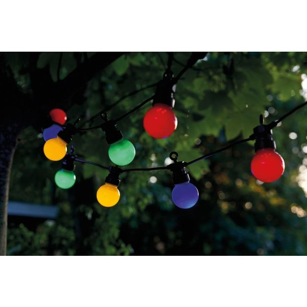 Outdoor Lichterkette Oscar Multicolor
