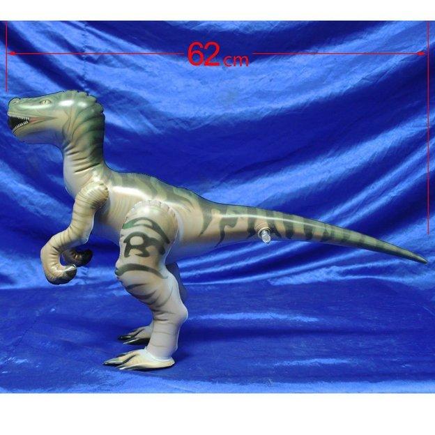 Aufblasbarer Dinosaurier Raptor 62 cm