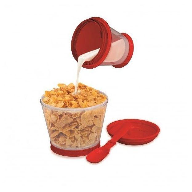 Kellogg's Frühstück to go Vintage Becher inkl. Löffel