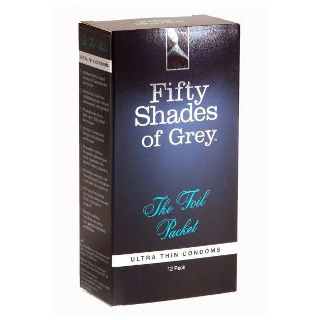 Fifty Shades of Grey Kondome The Foil Packet