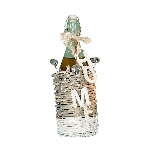 Flasche im Korb Home