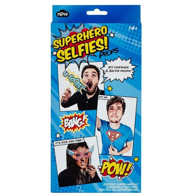 Superhelden Selfie Kit