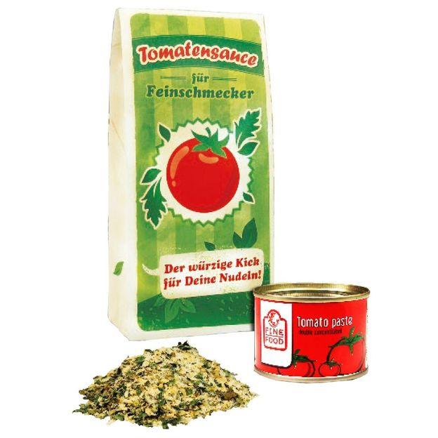 Nudeln mit Botschaft - Tomatensauce für Feinschmecker