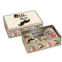 Set de tasses Mr & Mrs Right en porcelaine