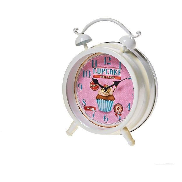 Standuhr Bakery pink