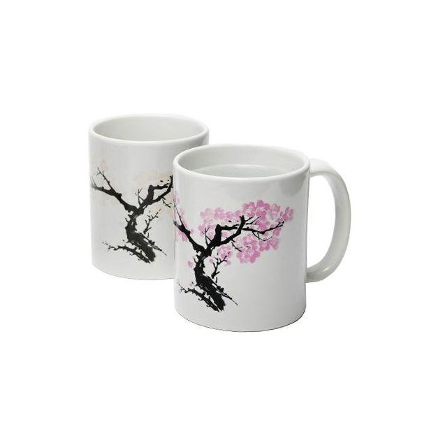 Tasse magique fleurs de cerisier