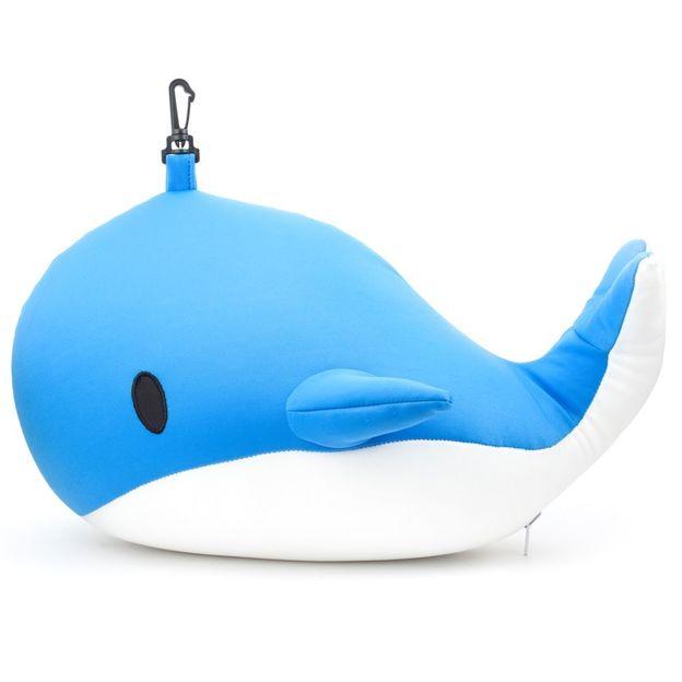 Nackenkissen Zip und Flip Wal