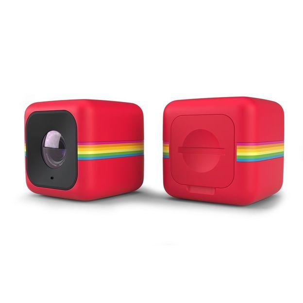 Polaroid Action-Kamera Cube+, rot
