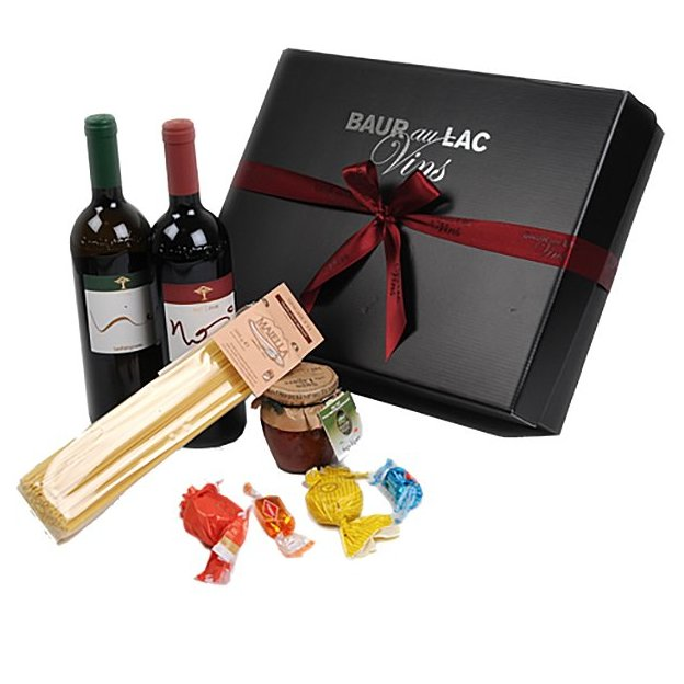 Set cadeau Tête-à-tête Vin et Spaghetti