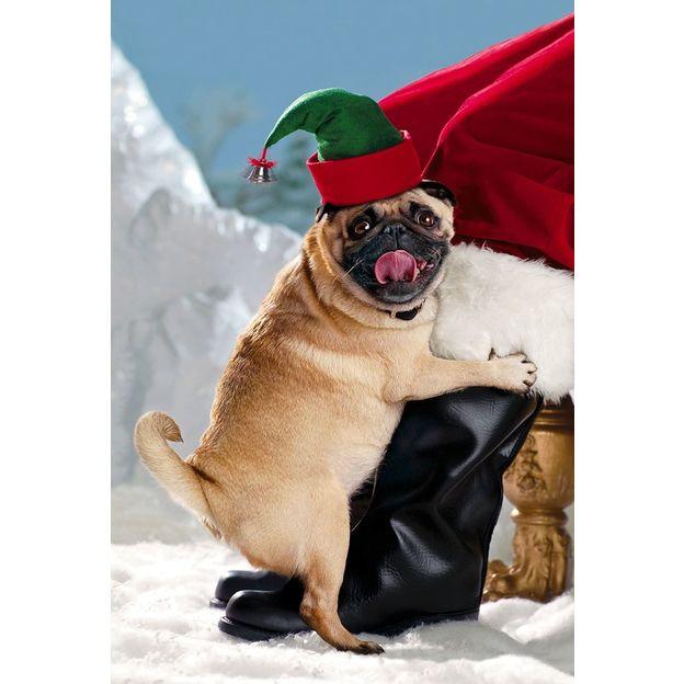 Carte de voeux Joyeuses fêtes de Noël