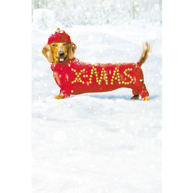 Weihnachtskarte X-Mas