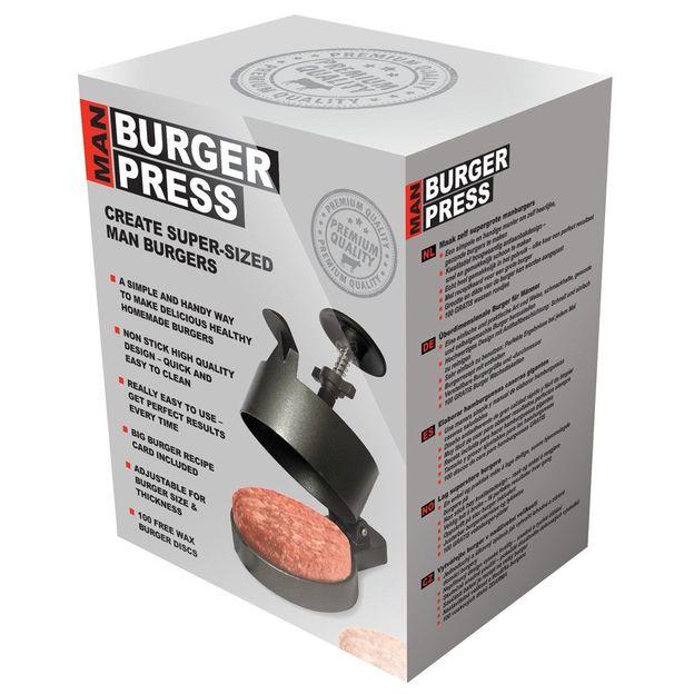 Man Burger Presse
