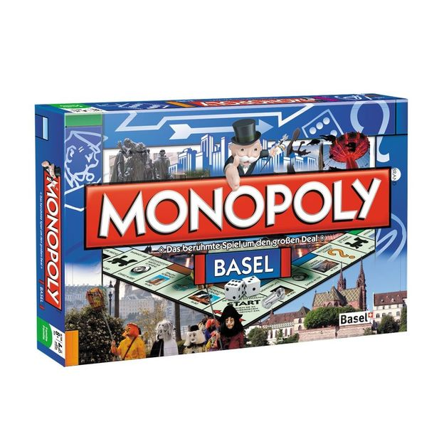 Monopoly Städte-Edition Basel