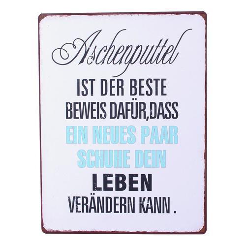Image of Blechschild Aschenputtel