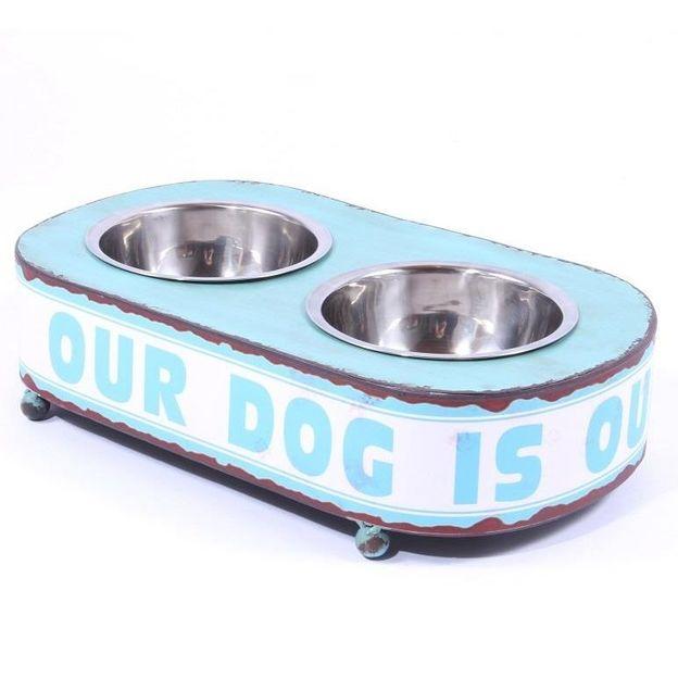 Fress- und Wassernapf für Hunde