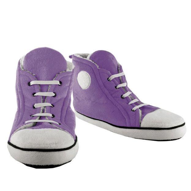 Sneakers Hausschuhe Frau violett