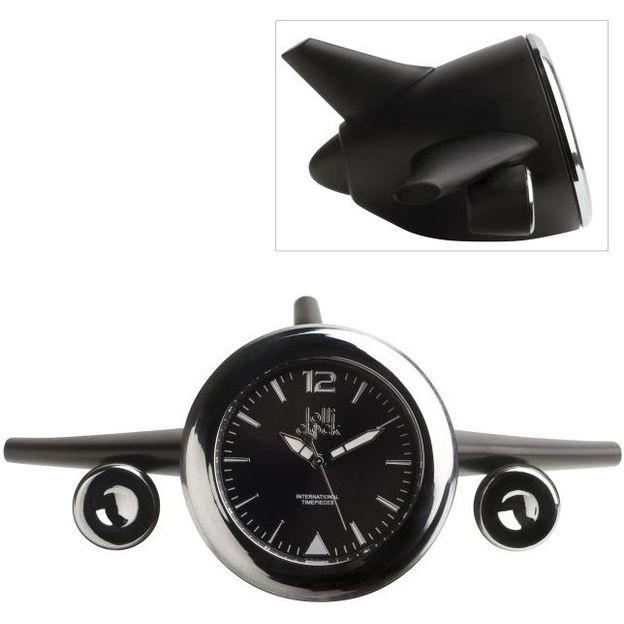 Horloge Lolliclock 2 en 1 noire