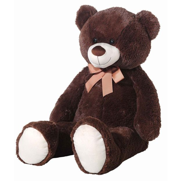 Riesen Teddybär XXL dunkelbraun 100cm