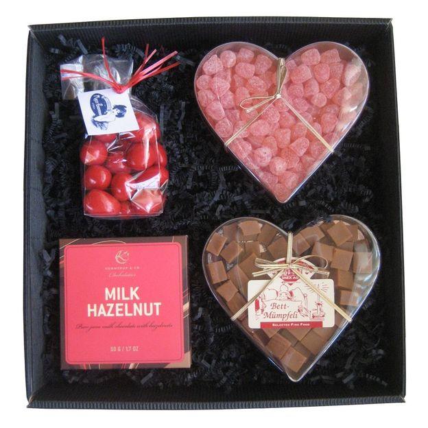 Set cadeau Coeur gourmand Coffret