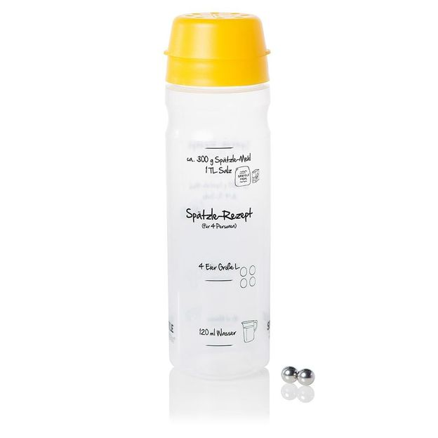 Spätzle Shaker gelb