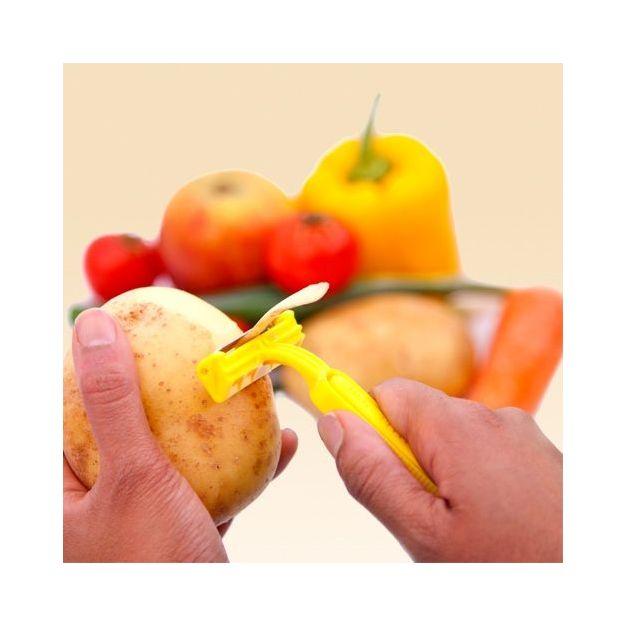 Rasoir éplucheur pour fruits et légumes