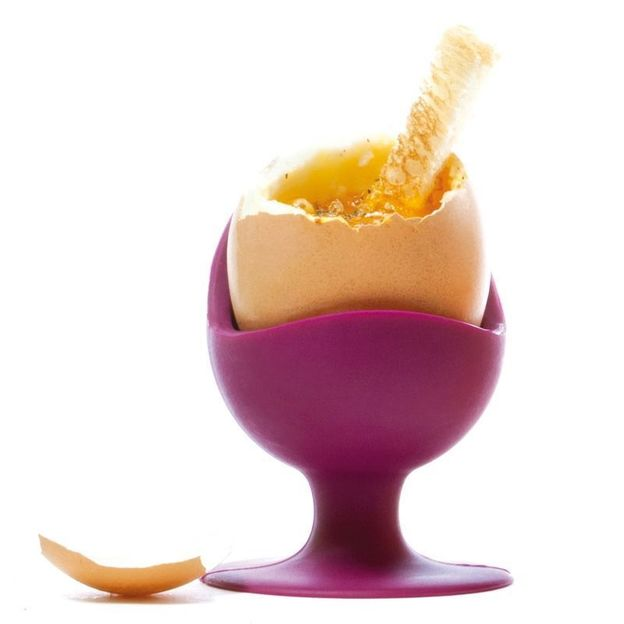 Coquetier Egg Chair aubergine