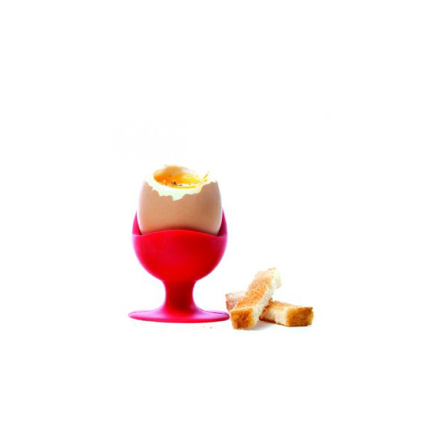 Coquetier Egg Chair rouge