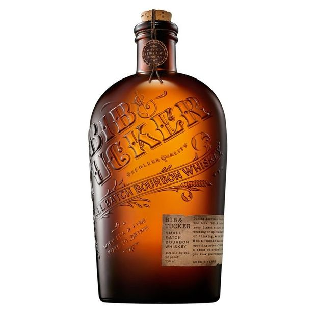 Bib & Tucker 6 Years Small Batch Bourbon Whiskey 75cl