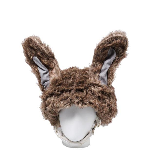 Couvre casque lièvre pour enfant
