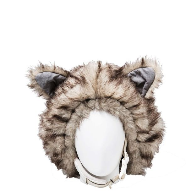 Couvre casque loup Taille universelle