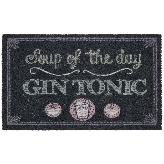Fussmatte Soup of the day - Gin Tonic