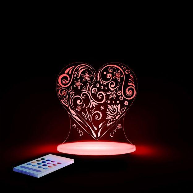Aloka Loveheart Sleepy Light