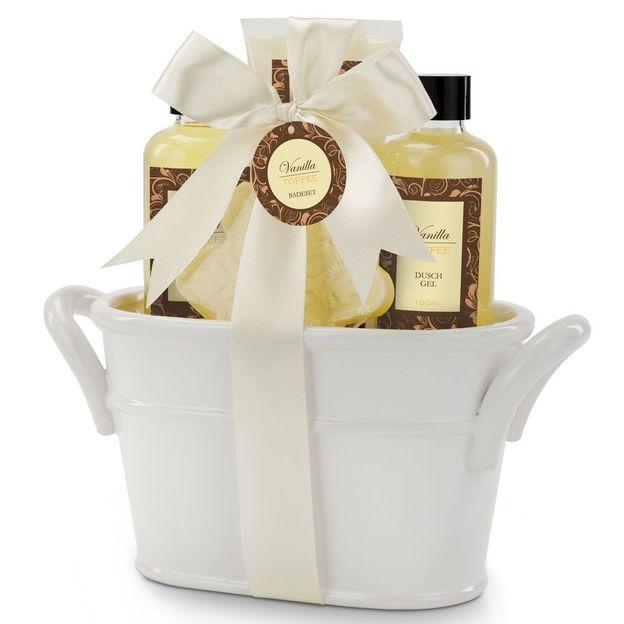 Coffret cadeau wellness vanille